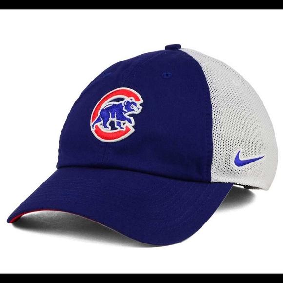 9ead1f58 Nike Chicago Cubby Bear Hat NWT